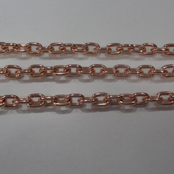 Αλυσίδα AC340 ρόζ χρυσή
