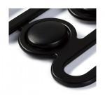 Αγγράφα ζώνης μαύρη Prym 25mm
