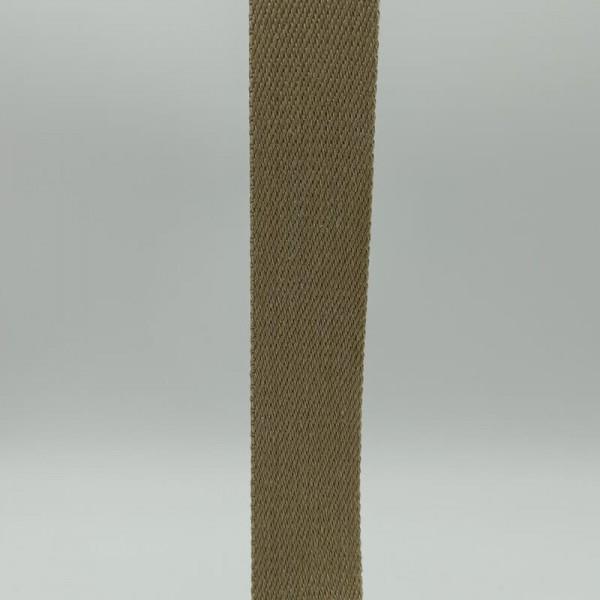 Ιμάντας βαμβακερός μπέζ 40mm