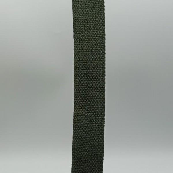 Ιμάντας βαμβακερός χακί 40mm