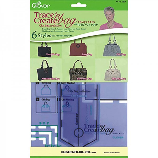 Bag template City collection