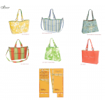 Bag template Florida Tote collection