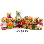 Κουκλάκια Amigurumi