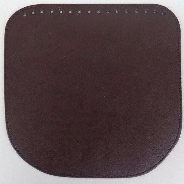 Καπάκι τσάντας 24x23 καφέ σκούρο