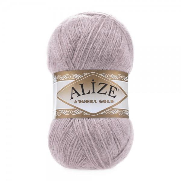 Angora Gold 163 Rose Grey